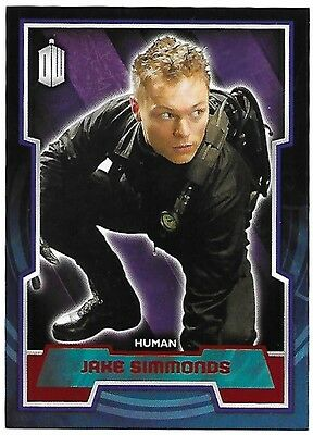 Doctor Who Topps 2015 Red Parallel Card 133 Jake Simmonds 31 of 50