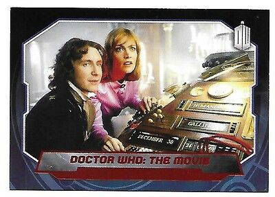 Doctor Who Topps 2015 Red Parallel Card 192 Doctor Who The Movie 33 of 50