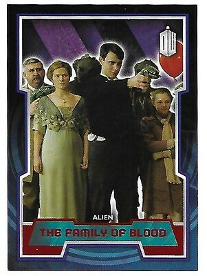 Doctor Who Topps 2015 Red Parallel Card 66 The Family of Blood 25 of 50