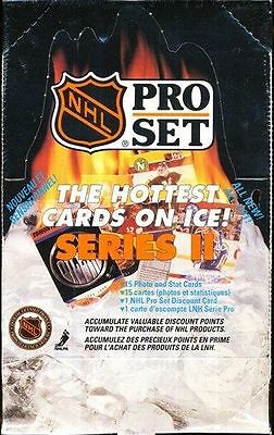 NHL Trading Cards----Pro Set OVP Box---90/91---Serie 2---540 Cards