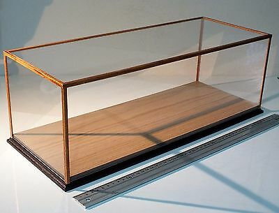 Display Case for scale models cars, ships, trains, military & collection figures