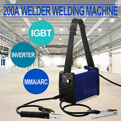 200A Igbt Inverter Welder Mma /arc Welder Tool Kit Portable Bargain Sale Hot