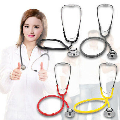 Portable Dual Head EMT Clinical Stethoscope Medical Auscultation Device Tool
