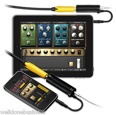 TS-GT01 Audio Interface AMP iRig System Guitar Effects Pedal for iPhone iPad