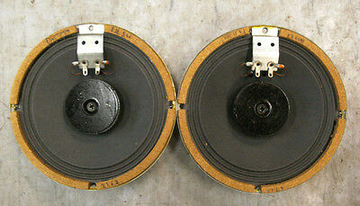1 Matched pair NOS HEA LENCO austrian wideband speaker  5-Ohm 5-6W avesome