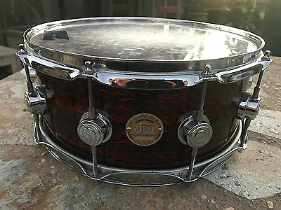DW Collectors Ten and Six Maple 14 x 6 Snare Drum Excellent