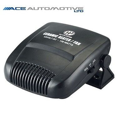 Peugeot Expert To 07 Powerful 150W 12V Plug In Car Heater/fan/defroster Dashboar