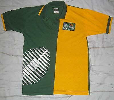 size S collared polo dress shirt 2003 IRB RUGBY WORLD CUP union top