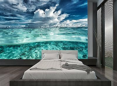 Sky Cloudy Amazing Seascape Water Wall Mural Photo Wallpaper GIANT WALL DECOR
