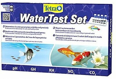 Tetra Multi Water Test Kit For Tropical Coldwater Aquarium PH KH GH NO2 CO2