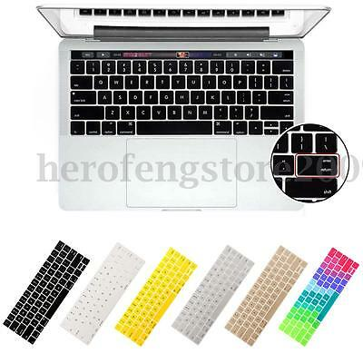 Silicone Laptop Keyboard Cover For 2016 New Macbook Pro 13''/15'' USA Version