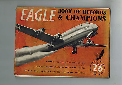EAGLE BOOK OF RECORDS AND CHAMPIONS 1950 BUT! (Eagle Comic)