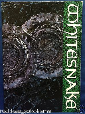 Whitesnake David Coverdale Japan Tour 1988 Concert Program Book Vandenberg Lepps