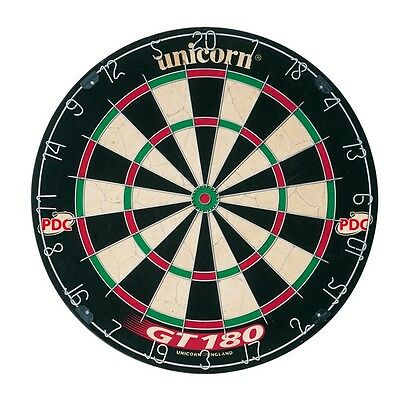 Unicorn GT180 Dartboard PDC Competition Quality Bristle Dart Board