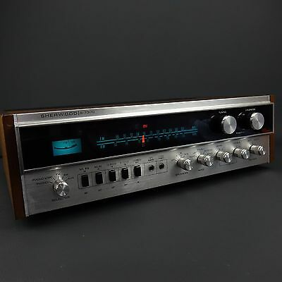 Sherwood S-7300 Stereo AM/FM Receiver  - Read