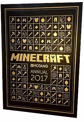 The Official Minecraft Annual 2017 by Mojang AB (Hardcover) Egmont