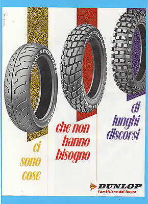 Motosprint989-Pubblicita'/advertising-1989- Dunlop