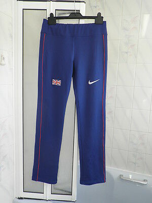 Genuine Great Britain Nike Team Kit ladies Track Bottoms European Champs S