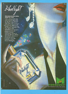 Motosprint989-Pubblicita'/advertising-1989- Videomusic Bluenight