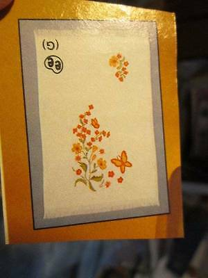 Tri-Chem Wild Flowers Hand Towel #3566-15x26 Inches-To Paint/Embroider