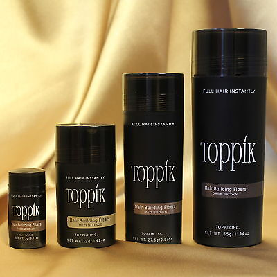 TOPPIK Hair Fibres - All Sizes - All Colours - ***PRICE DROP****