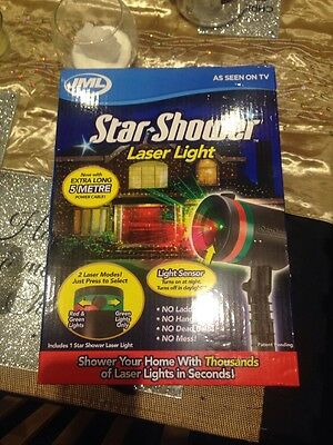 JML Star Shower LED Outdoor/Indoor Laser-Projected Light System with 5m Cable