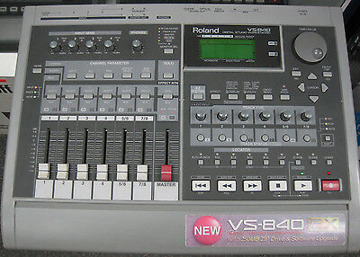 Roland VS-840 Digital Studio Recording Workstation Recorder VS840