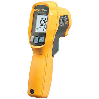 Fluke 62 Max Infrared Thermometer, 30 to 500 C & 10:1 Spot Size ratio