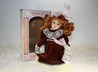 """Cathay Collection Porcelain Doll """"Tina"""" Cathay Depot Limited Edition Certificate"""