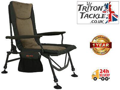 SCORPIUS SUPER LIGHT MEMORY FOAM CARP FISHING ARM CHAIR by TRITON TACKLE