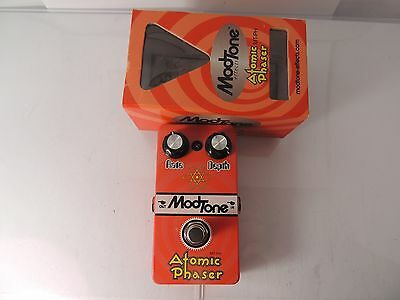 MODTONE MT-PH ATOMIC PHASER EFFECTS PEDAL PHASE SHIFTER w/BOX  FREE SHIPPING