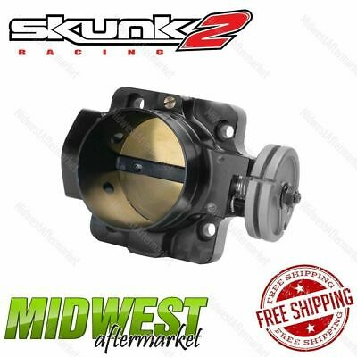 Skunk2 70mm Black Throttle Body For 1990-05 Accura Honda B D H F Series Engine
