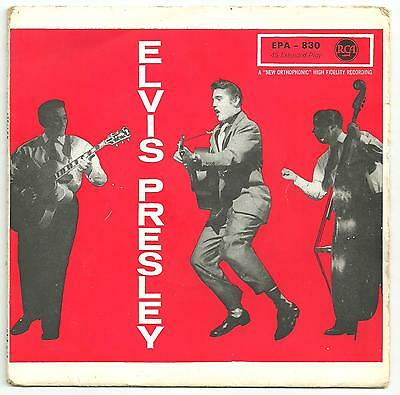 Elvis Presley - Shake, rattle and roll (EPA 830) from Germany.