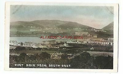 Isle Of Man Port Erin From South East Vintage Postcard 17.12