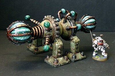 The Infinity-Engine, wargames scenery for 40K, Sci-fi and post apocalyptic games
