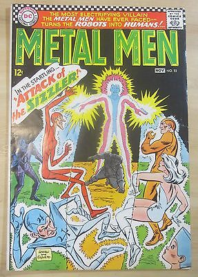 METAL MEN #22 1966 DC comic FN/VF 7.0 condition...FREE SHIPPING!!!