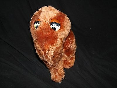 Sesame Street Applause Snuffleupagus Snuffy Brown Plush Vintage 10""