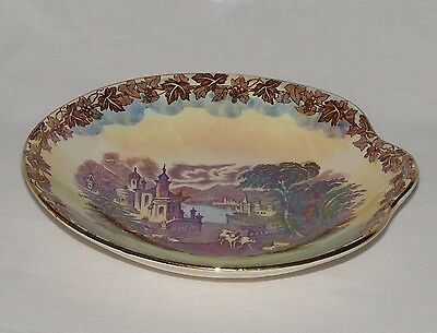 Vintage Antique Maling English Art Pottery  Decorative Bowl