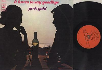 [LP] Jack Gold,It Hurts To Say Goodbye (CBS) {EX+} S 63701