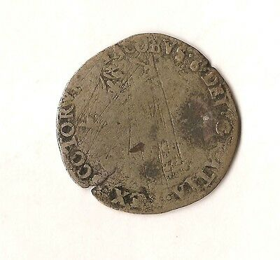 James VI of Scotland (1567-1625) Silver Half Merk or Noble - 6s and 8d