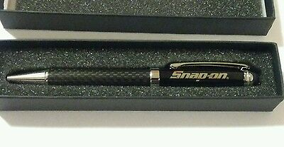 Brand new SNAP ON Tools Carbon Fiber Ball Point Pen