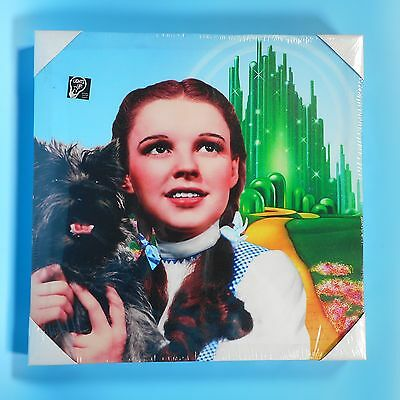 NEW Dorothy Toto Emerald City Canvas Wall Art 15 x 15 Wizard of Oz Judy Garland