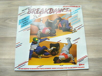 electro LP hiphop * EX * BREAKDANCE oldshool rap * WITH POSTER * 80s rapologists