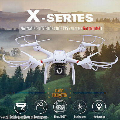 MJX X101 2.4GHz 4-CH 6 Axis Gyro RC Quadcopter with 3D Roll Stumbling Function