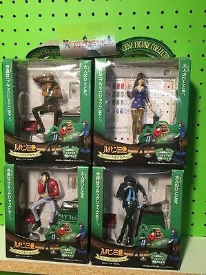 Banpresto Lupin the Third III Casino Scene Figure Collection Set of Four