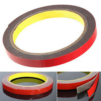 300cm 1 Roll  Car Trunk Industrial Acrylic Foam Double Side Adhesive Tape Auto