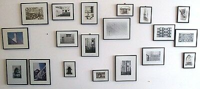 Large Collection Of Framed Original Photographs - Many Signed - 1976-1996