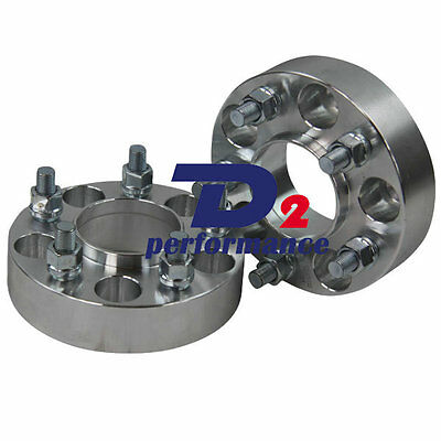 2PCS Wheel Spacers 5x114.3 12x1.5 CB=66.1 HUBCENTRIC 15mm