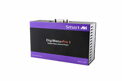 2 x DigiMenu-Pro 2 Digital Menu Board Player With Management Software Included