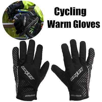 SAHOO Ciclismo bicicleta Invierno Touch Screen Guantes Deportes Windproof Gloves